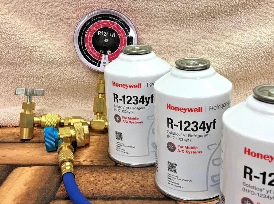 Баллончики фреона R1234yf Honeywell