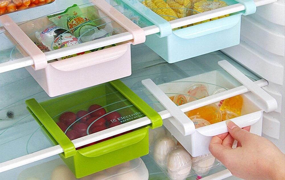 Организация хранения в холодильнике с помощью дополнительных контейнеров
