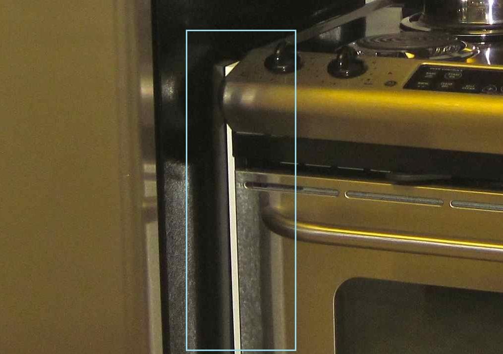 Экран между плитой и холодильником