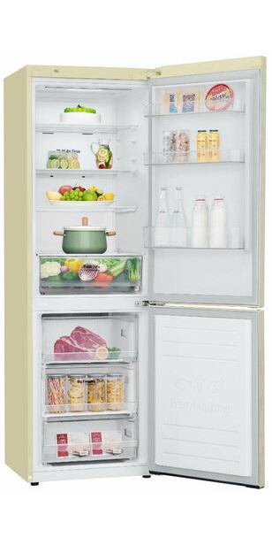 Открытый холодильник LG GA-B459SEQZ