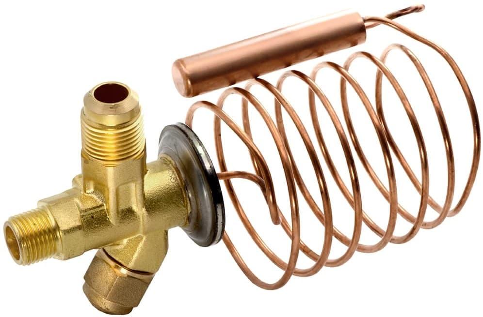 Терморегулируемый вентиль, капиллярная трубка и фильтр-осушитель холодильника